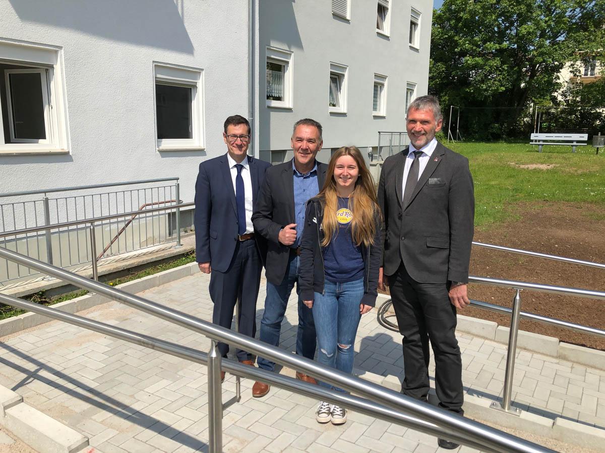 Ralph Stegner, Bernd Burkhard, Sina Dürk und Jürgen Stilgenbauer