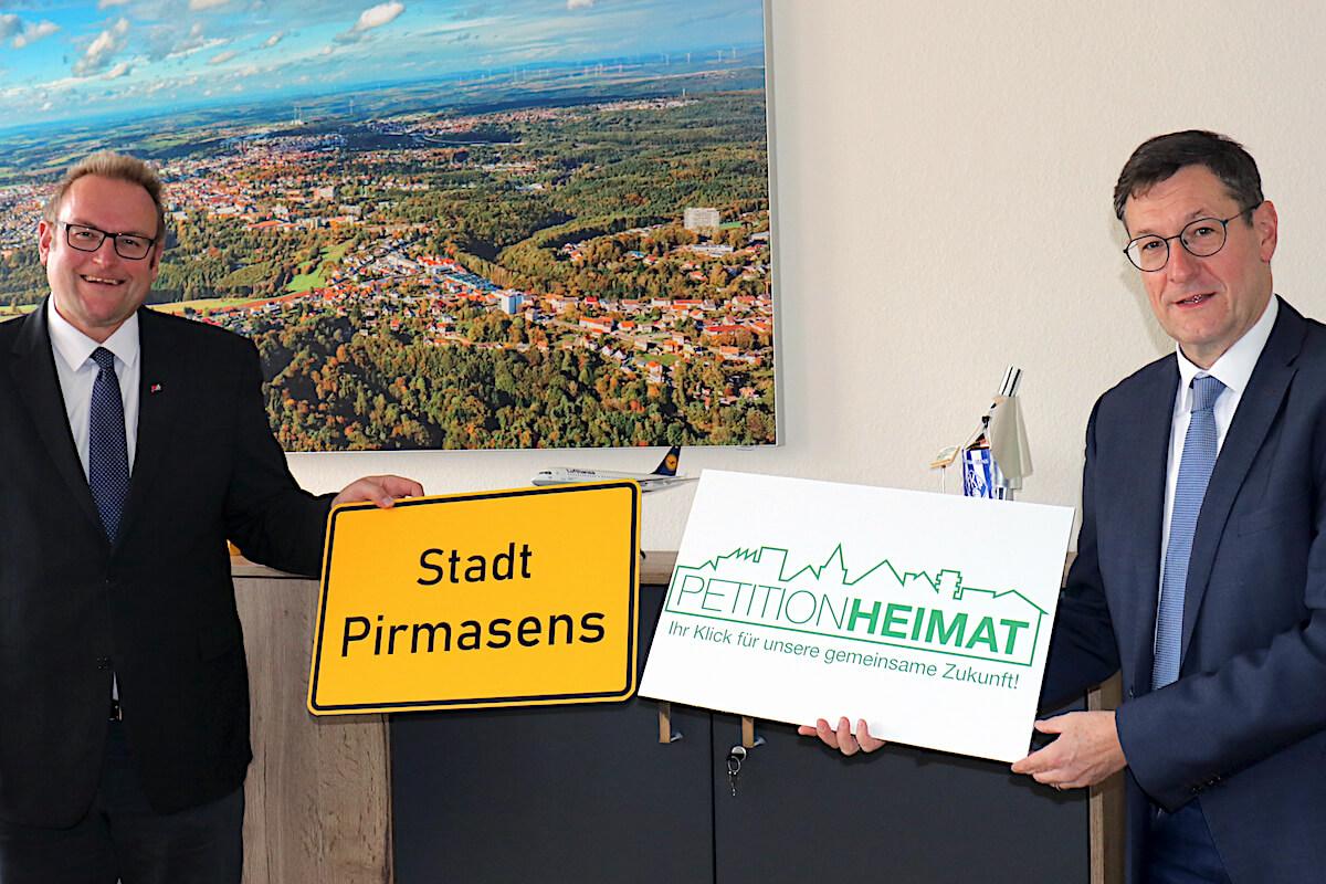 Petion Heimat: Markus Zwick und Ralph Stegner